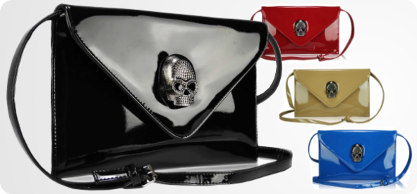 spoločenské kabelky lebka, lacne spolocenske kabelky