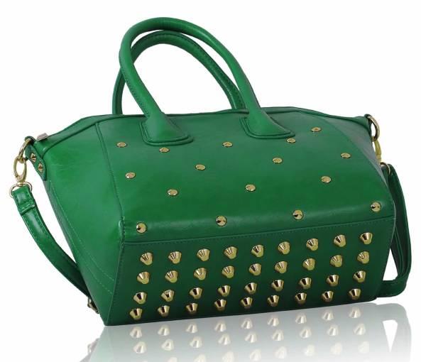 zelené vybíjané kabelky