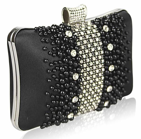 spolocenske kabelky perlove